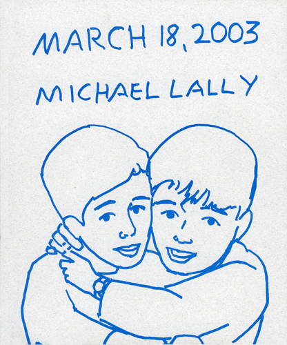 Michael Lally : MARCH 18, 2003